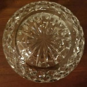 Crystal Accents - Crystal Rose Bowl